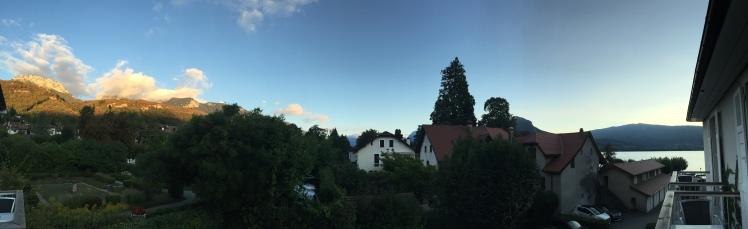 The views from Abbaye de Talloires